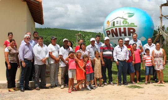 Fetaesp apresenta maquete da casa do Programa de Habitação Rural destinado ao agricultor familiar