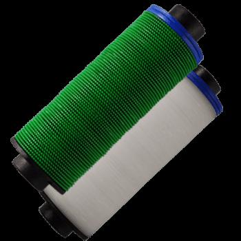 Elementos filtrantes de 50 e 150 mícrons