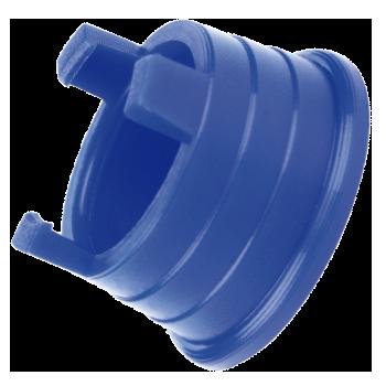 Anilha para tubo PELBD de 16 mm com garra