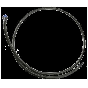 Gotejador Autocompensante GA-10 com microtubo de PVC + anilhas + conector AD-1