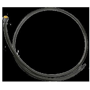 Gotejador Autocompensante GA-4 com microtubo de PVC + anilhas + conector AD-1