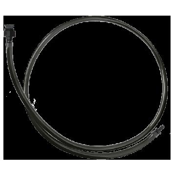 Gotejador Regulável ZOOM com microtubo de PVC + anilhas + conector AD-1