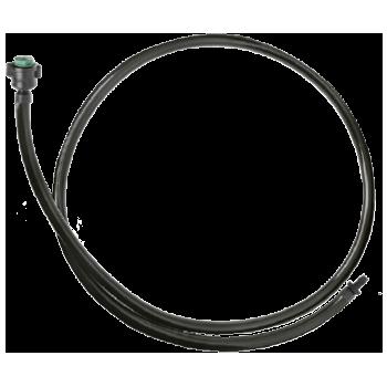 MA-50 + anilhas + conector AD-1 + microtubo de PVC (50 cm)