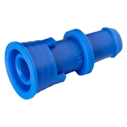 Inicial de 16 mm com anilha para tubo PELBD