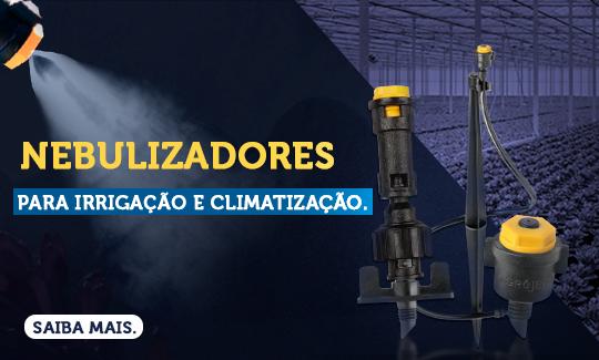 Saiba mais sobre Nebulizadores para Irrigação e Climatização