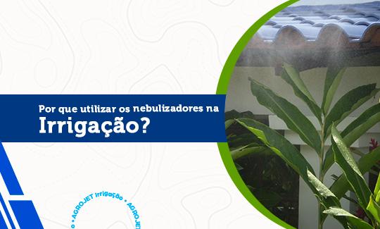 Por que utilizar os nebulizadores na irrigação?